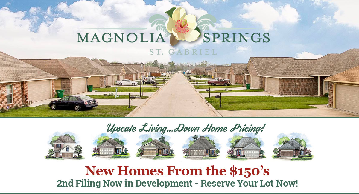 Magnolia Springs Homes 2nd filing