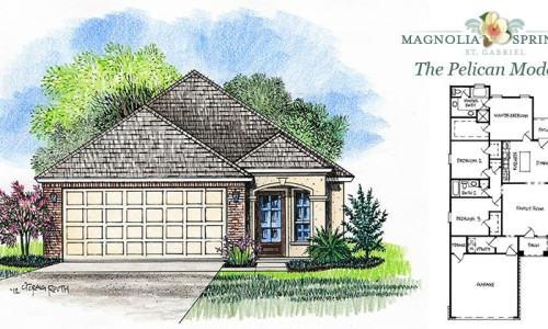 Real Estate Listing - Pelican Model in Magnolia Springs Louisiana
