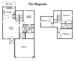 The Magnolia Floorplan 2 Story