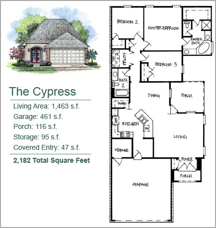 The Cypress Floorplan