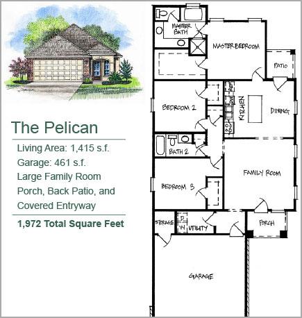 The Pelican Floorplan