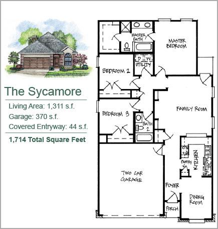The Sycamore Floorplan