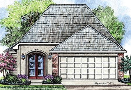 Custom construction of new houses in Louisiana