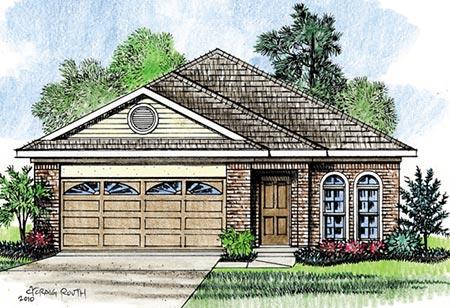 Construction of custom new homes in Louisiana