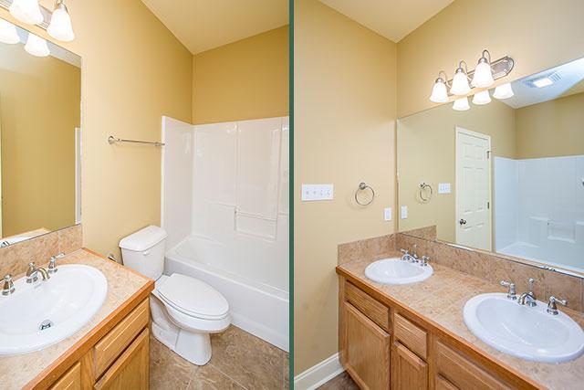 Sycamore bathrooms