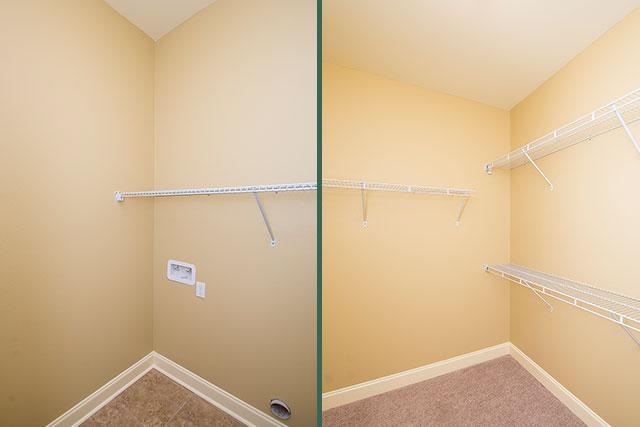 Sycamore closets