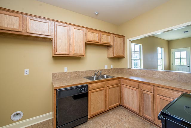 Sycamore kitchen and custom cabinets