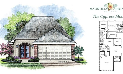 Real Estate Listing - Cypress Model Home in Magnolia Springs Louisiana
