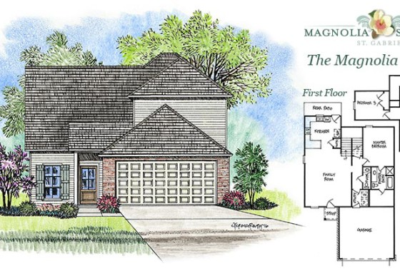 Real Estate Listing - Magnolia Model Home in Magnolia Springs La