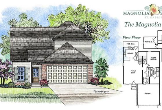 Real Estate Listing - Magnolia Model Home in Magnolia Springs La