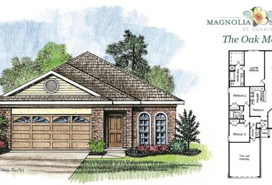 Real Estate Listing - Oak Model Home in Magnolia Springs
