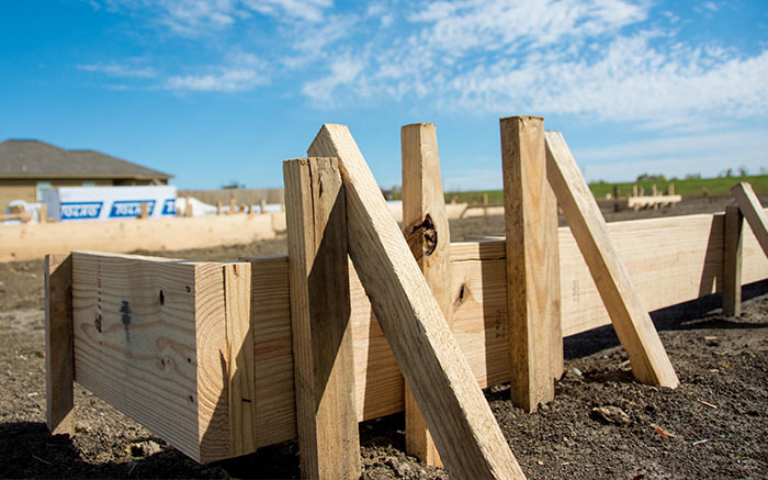 Foundation - New Home Construction Magnolia Springs