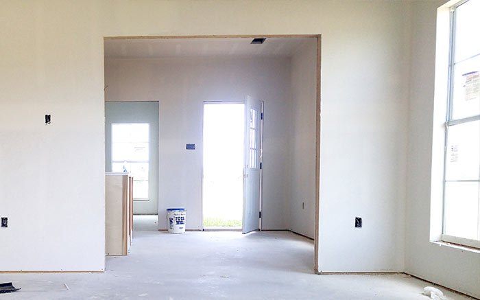 Drywall Construction Process