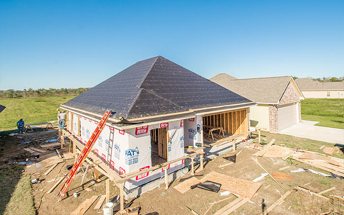 Top outs - New Home Construction