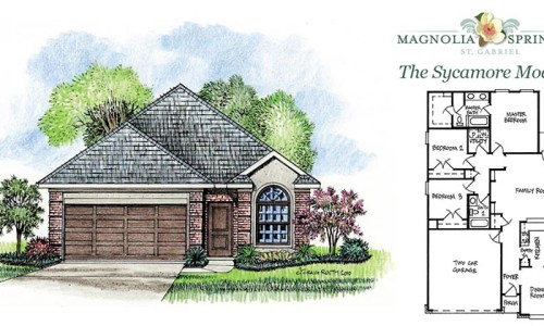 Real Estate Listing - Sycamore Model Listing in Magnolia Springs Louisiana
