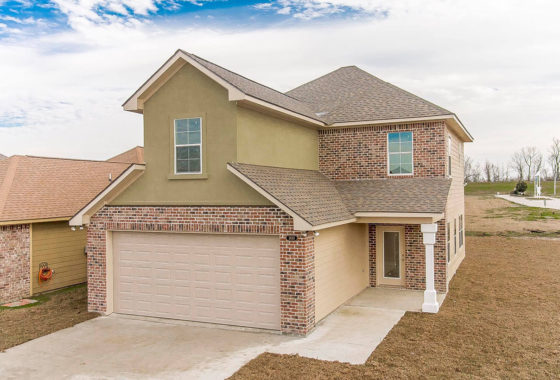 Magnolia model home front view