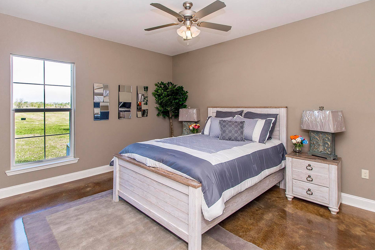 Master Bedroom in the Magnolia model home. The Magnolia Model   Floorplan   Magnolia Springs Neighborhood