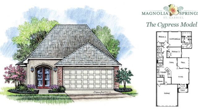 The Cypress Model Home in Magnolia Springs La