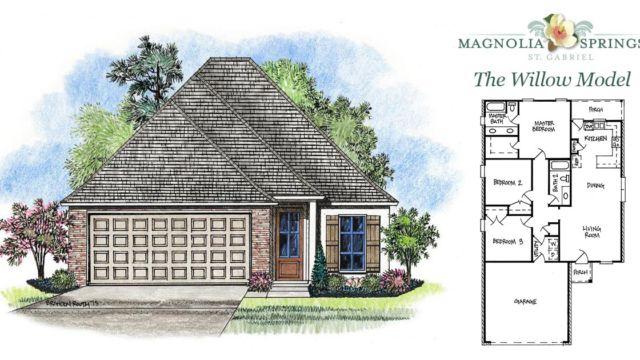 The Willow Model Home in Magnolia Springs La