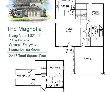 The Magnolia Floor Plan layout image