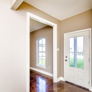 Front entryway of the Oak Model in Magnolia Springs