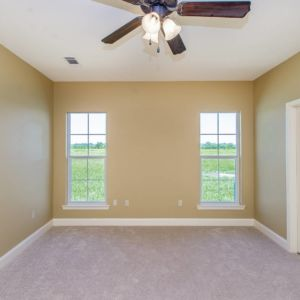 Master Bedroom of the Willow model in Magnolia Springs