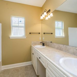 Master Bathroom of the Willow