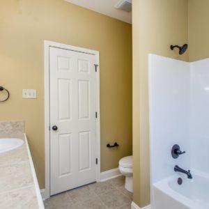 Master Bathroom view of the Willow floor plan