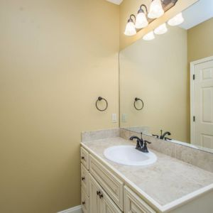 Guest Bathroom of the Willow floor plan