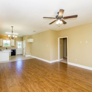Wood floors of the Willow Model