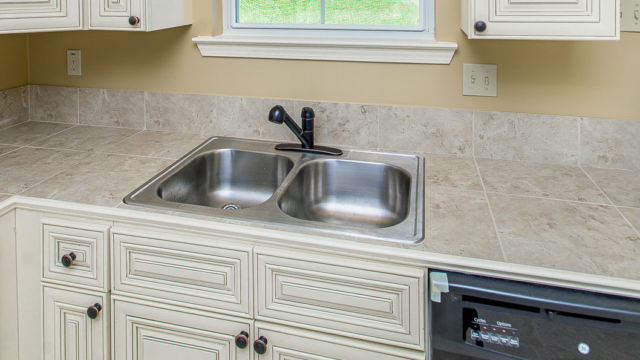 Sink and Prep area