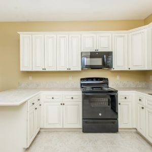Kitchen of the Willow model home