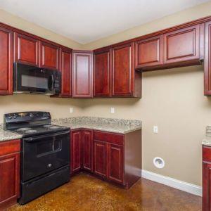 Cypress Model Custom Wood Kitchen Cabinets