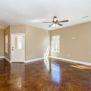 Cypress Model home's Living Area in Magnolia Springs