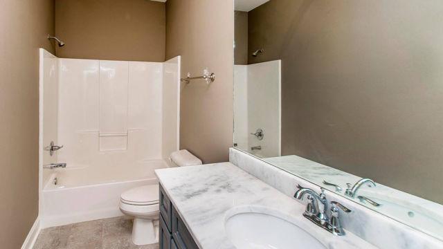 Full bath view of the Magnolia model home