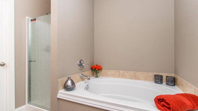 Master Bath in the Magnolia model home