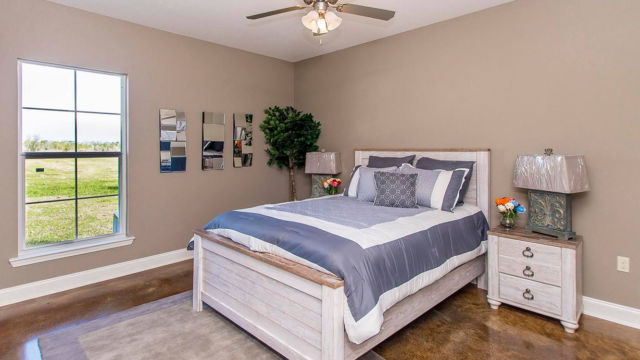 Master Bedroom in the Magnolia model home