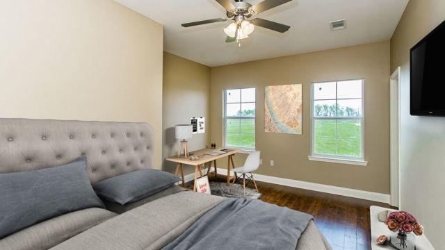 Magnolia model Bedroom, Virtual Staging