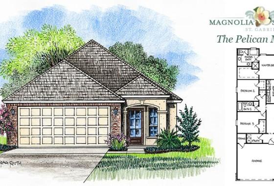 Real Estate Listing - Pelican Model in Magnolia Springs Louisiana